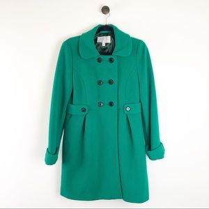 Old Navy Pea Coat Jacket Green Size Medium